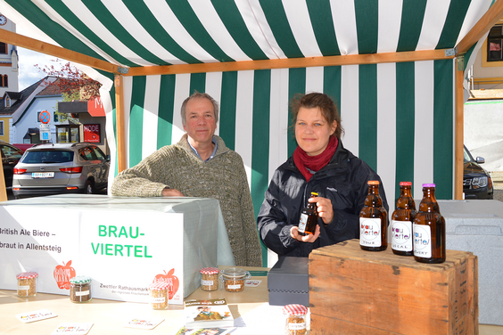 Brauviertel OG, Authentic British Real Ales
